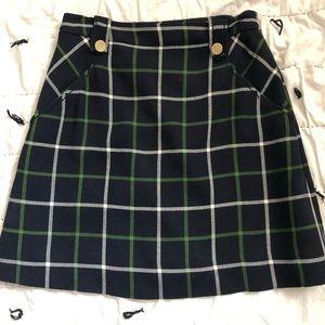 Kate Spade preppy plaid skirt size 4
